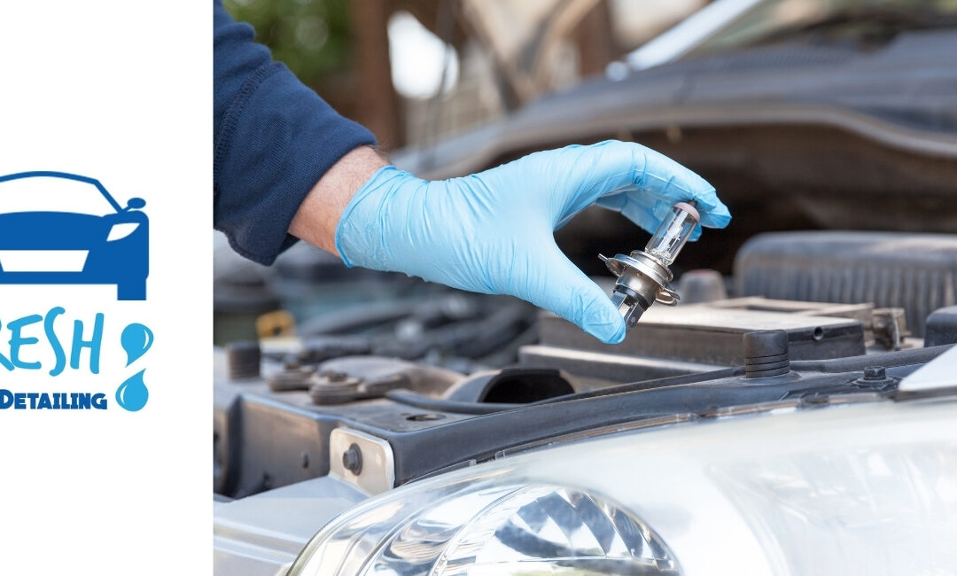 What Does a Complete Car Headlight Restoration Service Include?