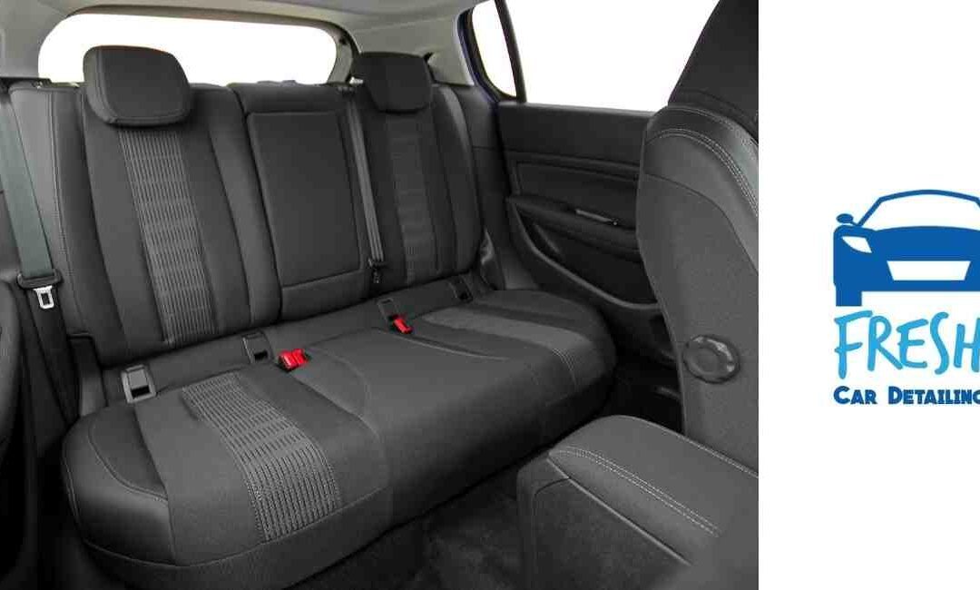 Removing Sticky Stains from Car Seats and Carpet