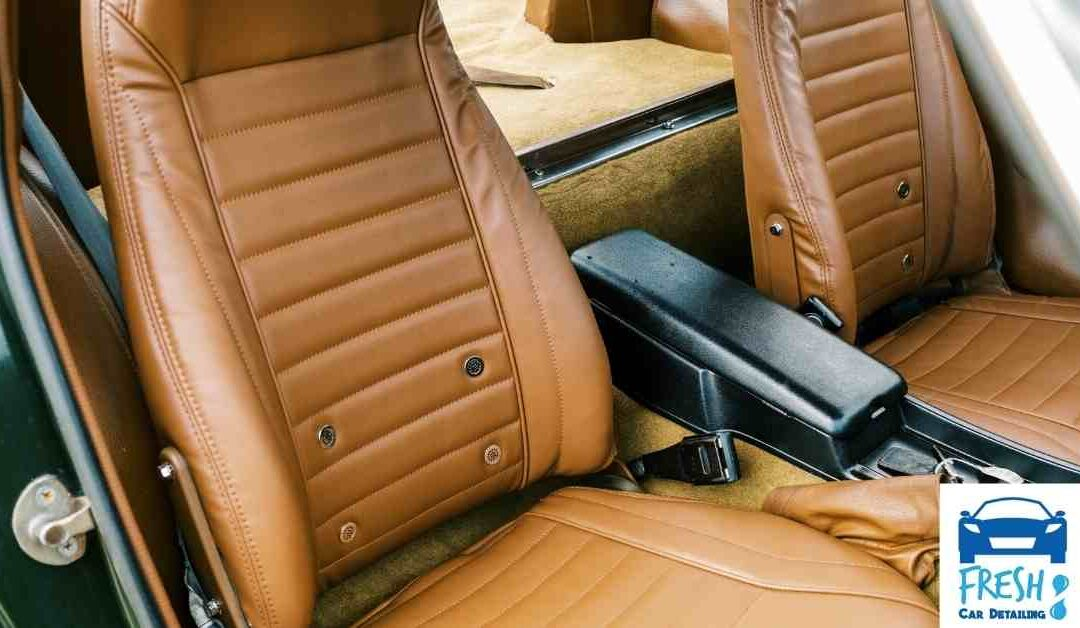 Five Ways to Protect Leather Car Seats